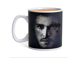 Game of Thrones - Jon Snow Thermoeffekt Tasse