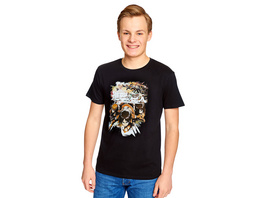 Attack on Titan - Crew Fight T-Shirt schwarz