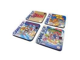 Nintendo - Game Boy Classic Games Untersetzer 4er Set