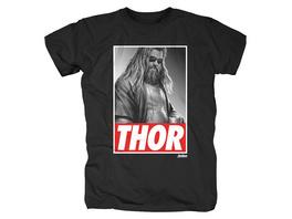 Avengers - Casual Thor T-Shirt schwarz