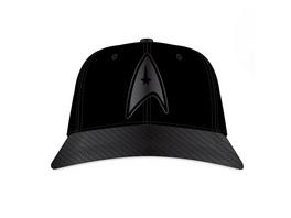 Star Trek - Metall Logo Snapback Cap schwarz