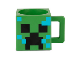 Minecraft - Charged Creeper Tasse grün