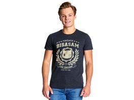 Pokemon - Bisasam Loyal Companion T-Shirt blau