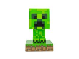 Minecraft - Creeper Icons 3D Tischlampe
