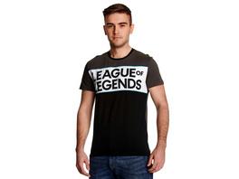 League of Legends - Cut & Sew Logo T-Shirt