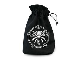 Witcher - Wolf Logo Würfelbeutel schwarz