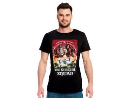 Suicide Squad - Group Poster T-Shirt schwarz