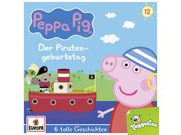 Peppa Pig Hörspiel 12. Der Piratengeburtstag  6 to