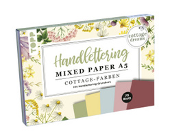 Handlettering Mixed Paper Block Cottage Dreams A5