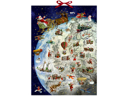 Wandkalender - Der Dienstplan des Weihnachtsmanns