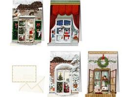 Mini-Adventskalender - Nostalgische Weihnachtsfens