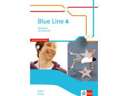 Blue Line 4 M-Zug. Workbook mit Audio-CD Klasse 8.