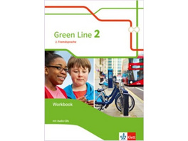Green Line 2. 2. Fremdsprache. Workbook mit Audio-