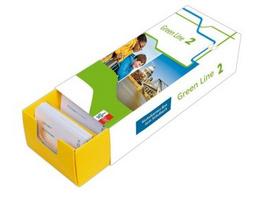 Vokabel-Lernbox zum Schulbuch.Green Line 2 Bayern