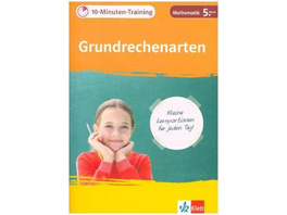 10-Minuten-Training Grundrechenarten. Mathematik 5