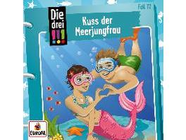 Die drei !!! 72: Kuss der Meerjungfrau