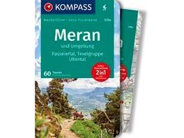KOMPASS Wanderführer Meran und Umgebung, Passeiert