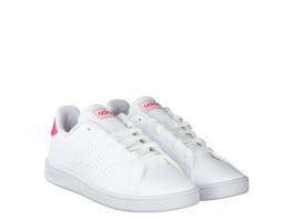 Adidas Advantage K Halbschuhe weiß Mädchen