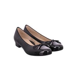 Ara (gr. 5½) Ballerina schwarz Damen