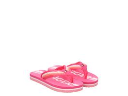 Elisabet Rot (gr. 28) Pantoletten pink Mädchen