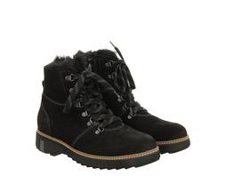 Waldläufer Hitomi Fußbettschuhe schwarz Damen