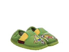 Giesswein Arnstadt Hausschuhe grün Jungen