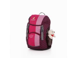 Deuter Kinder Rucksack Schmusebär 8l pink (5040)