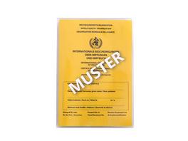 HJP Pfeifle Impfpasshülle 1002 transparent