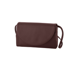 Klatta Clutch maroon brown