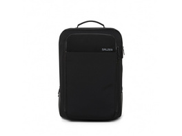 "Salzen Laptoprucksack Redefined Classic Sleek Line 15,6"" phantom black"