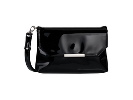 Tom Tailor Clutch Kenza black patent