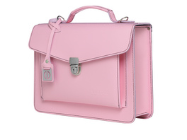 CEEVEE Leather Aktentasche Catchall Day soft pink