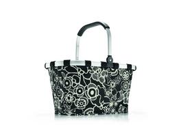 reisenthel Einkaufskorb carrybag gemustert 22l fleur black