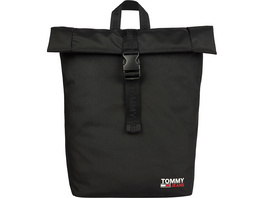 Tommy Jeans Rucksack TJM Campus Roll Top black