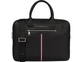 "Tommy Hilfiger Laptoptasche TH Downtown Super Slim Comp Bag 15"" black"