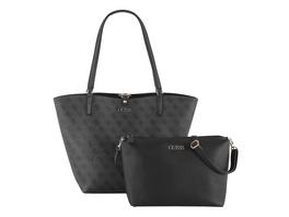 Guess Shopper Alby Toggle Tote Bag in Bag coal/black