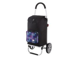 Rada Einkaufstrolley ER/7 45l purple blue caro