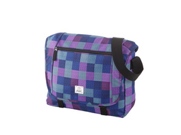 "Rada Laptoptasche CT/2/L 16"" purple blue caro"